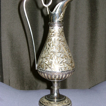 Antique Pitcher made in India - Silver
