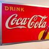 1938 Coca-Cola Tin Sign