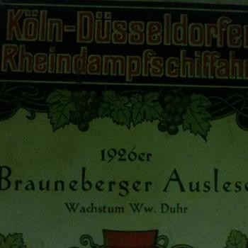 wine label 1926er, german propaganda booklet ..value? - Military and Wartime