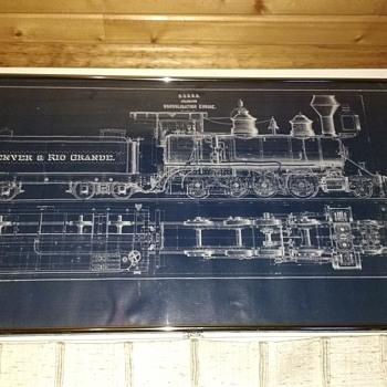 D.& R. G. R. Blueprint