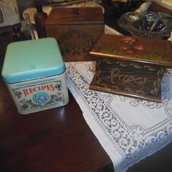 Recipe Boxes - Kitchen