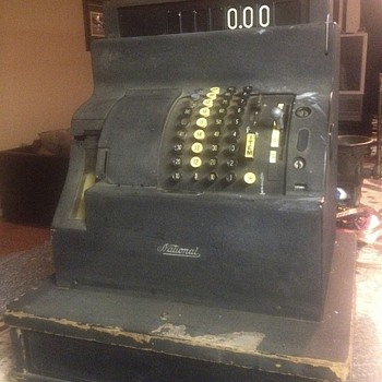 1940s?? Cash register