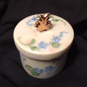 Porclain Tooth Container! - China and Dinnerware