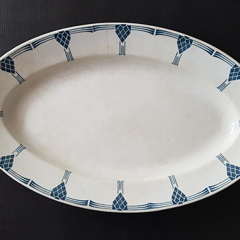 Arabia Finland ceramic plate - Art Deco