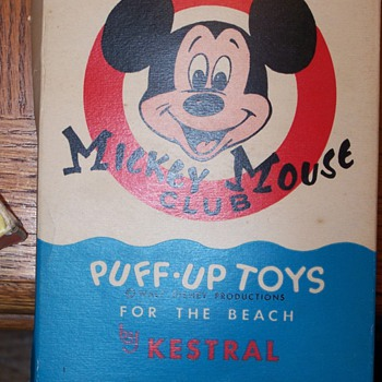 kestral mickey mouse club puff up toy