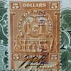 1912 Railroad Bond and Stamp