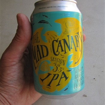 Mad Canary: Beer and pop-top tab purse - Advertising