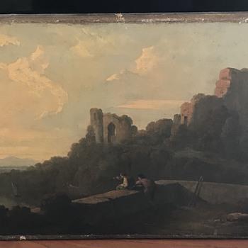 George Barrett oil painting? - Fine Art