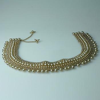 Pearl collar's - Accessories