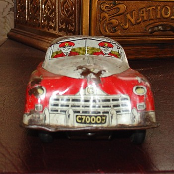 Courtland Toy...Fire Chief Car...Made In Camden, New Jersey In The Thirties By Walter Rudolph Reach - Model Cars