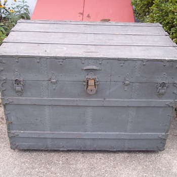 C. A. Taylor trunk - Furniture