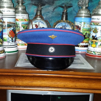 Prussian visor cap of a high official of the Prussian State Railway