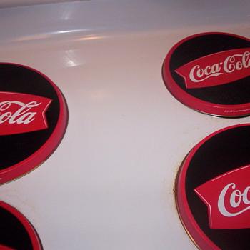 My stove top covers - Coca-Cola