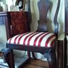 queen anne walnut side chairs