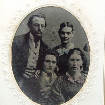 Nice group shot tintype