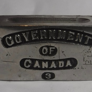 Government of Canada Weight? - Military and Wartime