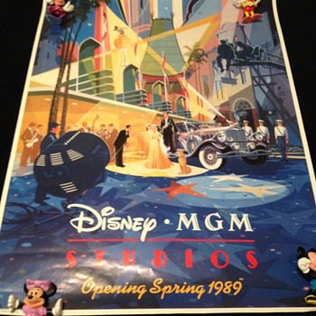 """Disney MGM Studios Opening Spring 1989""  - Advertising"