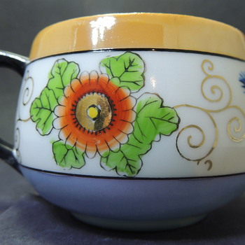 Teacup Colorful Flower Design - Help!? - China and Dinnerware