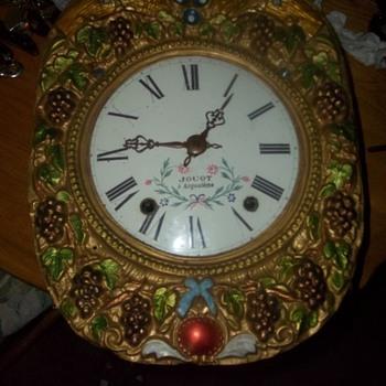 VINTAGE WALL PENDULUM CLOCK