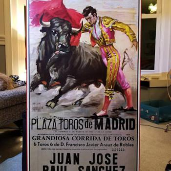 Juan Reus Ortega Valencia Lithograph #1084 ROT - Posters and Prints