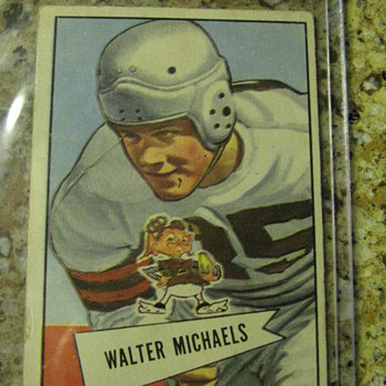 Walter Michaels Rookie Card