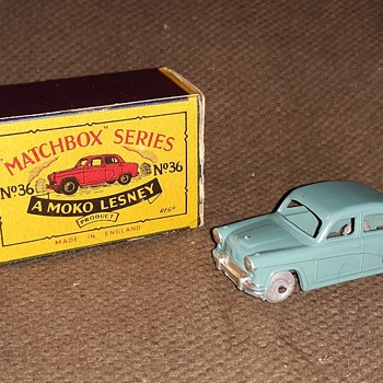 Much More Mega Mundane Matchbox Monday MB-36 Austin A50 1957-1960 - Model Cars