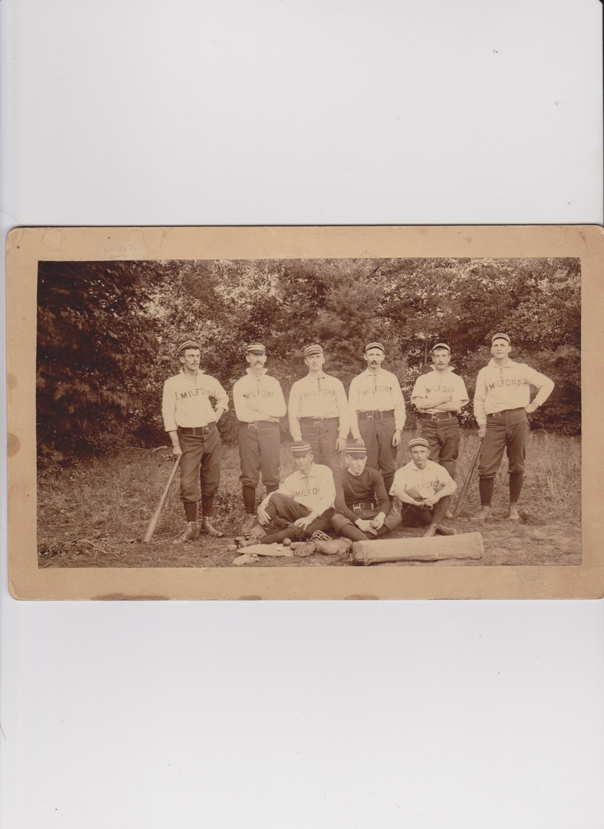 Early Milford NH Baseball Team Cabinet Photo | Collectors Weekly