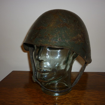 Scarce WWII Greek steel helmet. - Military and Wartime