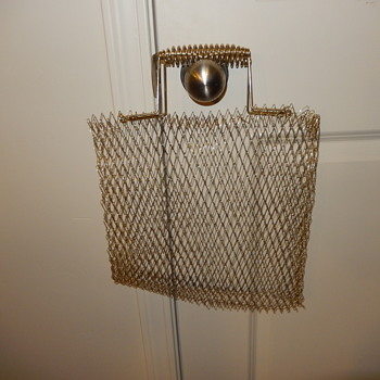 LOOSE WOVEN METAL TOTE BAG - Accessories