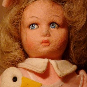 """Aurelia"" Lenci Doll, Tags And Box 1983"