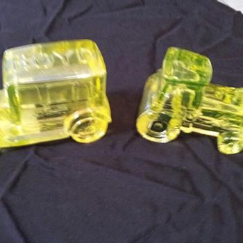 More Vaseline Glass - Glassware
