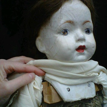 kinda creepy but lovely, old doll