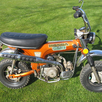 1974 Honda CT70 Mini Trail K3 - Motorcycles