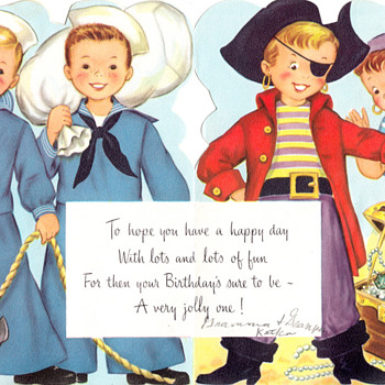 Fairfield Birthday Fold-Out Greeting Card - Cards