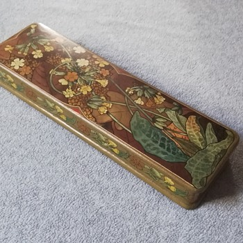 Art nouveau box by Eugene windeck - Art Nouveau
