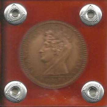1796 Castorland Franco Americana Colonia coin? Token?