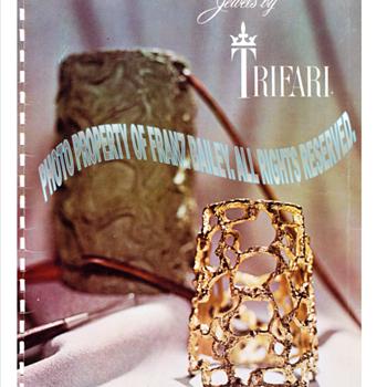Jonathan Bailey,  Trifari's 1970 Fall/Winter catalog. - Paper