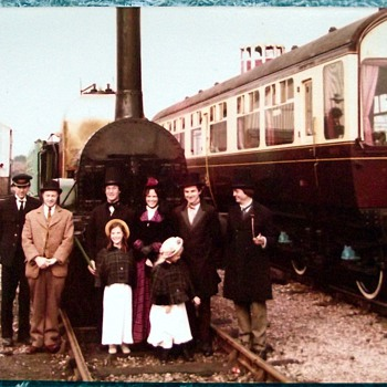 1980-birmingham-tyseley railway museum-'lion' steam train.