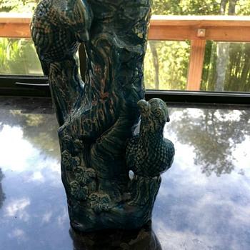 Unusual old vase needs identification  - Pottery