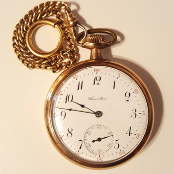 Hamilton 17 Jewels Pocket Watch - Pocket Watches