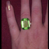 Monet Emerald Cocktail Ring