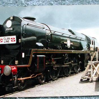 1988-birmingham-tyseley railway museum-steam trains. - Railroadiana