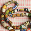 African bead necklaces
