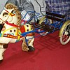 One of my favourite MOBO SULKY metal pedal toy 1950's
