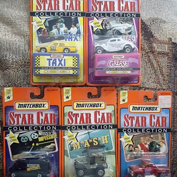 Matchbox, Star Cars. - Model Cars
