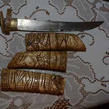 Ivory knife? - Asian