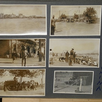 "1900's  DOCTOR'S PHOTOGRAPHS TAKEN IN  ""TSINGTAU, HONG KONG & ""SHANGHAI""  - Photographs"