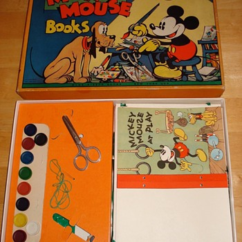Mickey Mouse Midget Library - Advertising