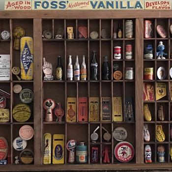 Vintage Advertising Gadgets - Advertising