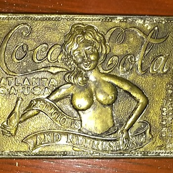 Vintage coca cola belt buckle - Coca-Cola